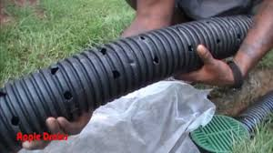 french drain for do it yourself project by apple drains