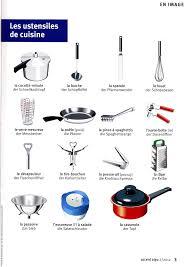 vocabulaire de la cuisine les ustensiles de cuisine apprenez le français svp