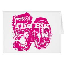 sister 50th birthday cards greeting u0026 photo cards zazzle