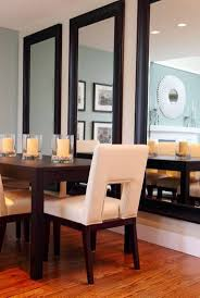 dining room simple mirror in dining room inspirational home