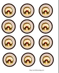 cute thanksgiving cupcakes free printable thanksgiving cupcake toppers