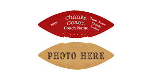 Engraved Football Gifts Photo And Personalized Football Gifts For Coaches Zazzle Com