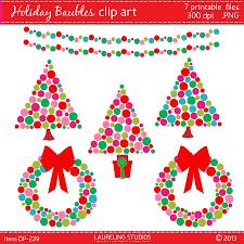 Modern Christmas Trees Modern Christmas Clipart