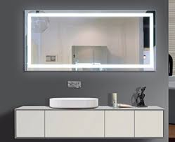led illuminated bathroom mirror backlit mirrors lighted