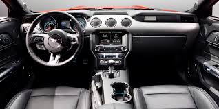 mustang inside 2015 ford mustang gt review