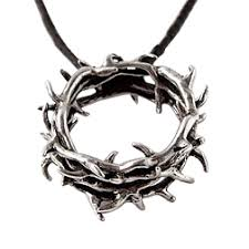 crown of thorns necklace bob siemon designs sterling silver crown necklace thorns