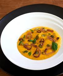 sous vide curried butternut squash soup recipe amazing food made