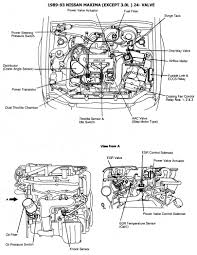 nissan maxima egr valve nissan 1986 93 diagramas