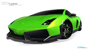 Lamborghini Aventador Neon Green - lamborghini gallardo lp 540 green goblin is a virtual madness
