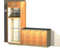 double oven with microwave above stack