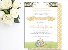 classic winnie pooh baby shower invitations u2013 gangcraft net