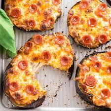 needs pizza easy mini eggplant pizza recipe low carb 6 ingredients