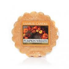 wax melt review pumpkin wreath yankee candle company