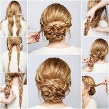 easiest type of diy hair braiding diy braided chignon pictures photos and images for facebook