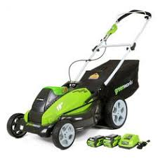 black friday deals on lawn mowers greenworks g max cordless 40 volt 16 lawn mower green