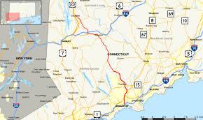 road map connecticut usa connecticut route 25