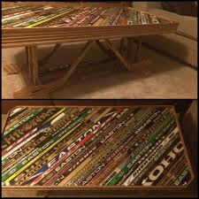 Used Coffee Tables by Here U0027s An Awesome Coffee Table My Friend Made With His Dad From