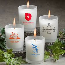 personalized candle personalized candle holders custom votive holders