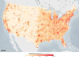 united states population map the us map redrawn as 50 states with equal population mental floss