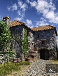 country farmhouse old country farmhouse 3d models and 3d software by daz 3d