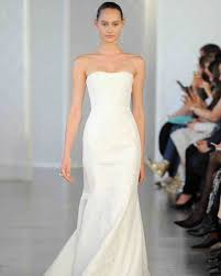 calvin klein wedding dresses oscar de la renta 2017 wedding dress collection martha