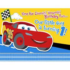 caillou birthday invitations disney 1st birthday cars invitations birthdayexpress com