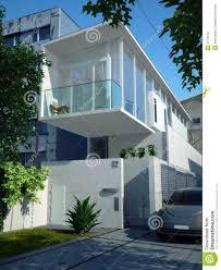 modern minimalist house stock photography image 5114112