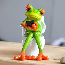 resin frog figurines 2017 new creative 3d cabochon kawaii crafts