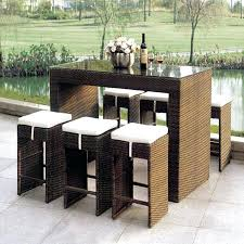 Patio Bar Furniture Set Outdoor Patio Bar Sets Tandonautes