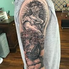 13 colosseum half sleeve tattoos
