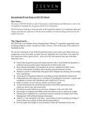 Hotel Desk Clerk Job Description Seven Hotel Southend On Sea Linkedin