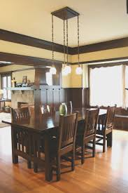 emejing craftsman style dining room table photos home design