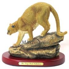 mountain lion statue all brands animal sculpture mjstoy