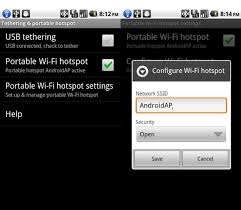 mobile hotspot for android android 2 2 froyo features usb wi fi tethering wired