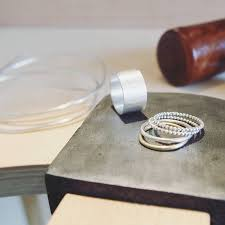 make your own wedding ring make your own silver wedding rings workshop for two by the crafty