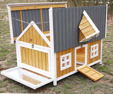 Rabbit Hutch Plastic Large Rabbit Hutches Pet Supplies Ebay