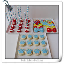 paw patrol theme cookie cakepops and choclate oreo cookies
