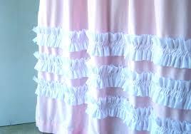 Ruffle Shower Curtain Anthropologie Ruffled Shower Curtain Natandreini