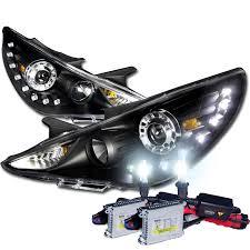hyundai sonata 2011 accessories hid xenon 2011 2013 hyundai sonata smd led drl projector