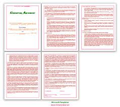 agreement templates business agreements consulting agreement