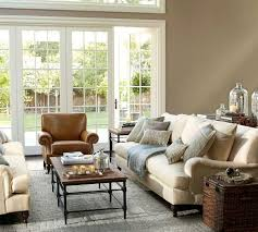 pottery barn living rooms living room traditional glass top
