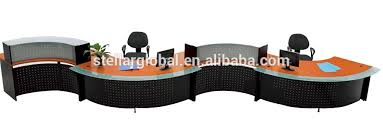 S Shaped Desk Fashionable S Shaped Reception Desk Office Front Desk Front