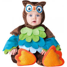 newborn costumes halloween amazon com incharacter costumes baby u0027s what a hoot owl costume