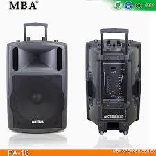 mba pa 18 outdoor speaker lound stage bluetooth speaker cabinet