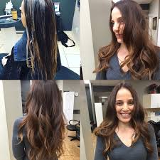 organic hair color voted best balayage hair painting hair
