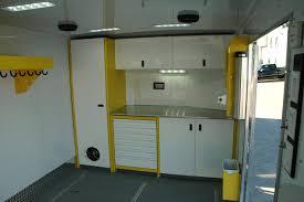 v nose enclosed trailer cabinets aluminum cabinets dsw manufacturing inc dsw manufacturing inc