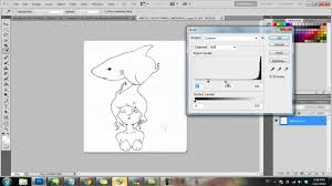 tutorial coloring a scanned lineart photoshop and painttool sai