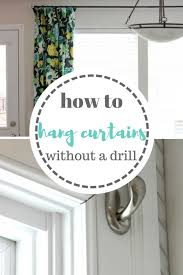 ways to hang curtains best 25 how to hang ideas on pinterest how to hang curtains