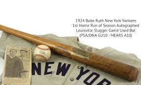 1924 ruth bat