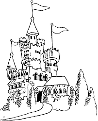 Kids N Fun Com 20 Coloring Pages Of Castles Coloring Pages Castles